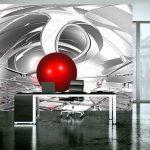 Fototapety 3d geometria